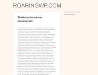roaringwp.com screenshot