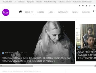 roarmagazine.it screenshot