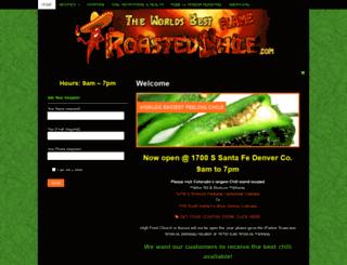 roastedchili.com screenshot