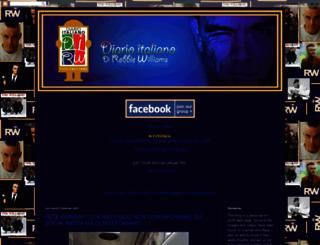 robbiewilliamsdiarioitaliano.blogspot.nl screenshot