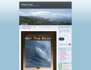 robbinsedge.wordpress.com screenshot