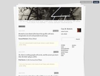 robcam-wfu.tumblr.com screenshot