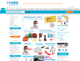 robe-materiel-medical.fr screenshot