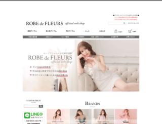 robe-webshop.jp screenshot