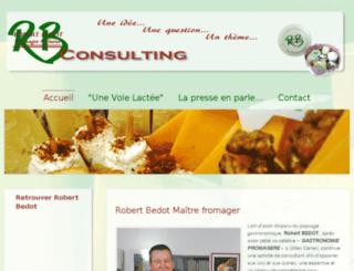 robert-bedot.com screenshot