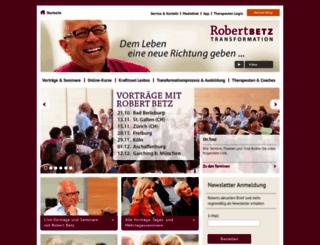 robert-betz.com screenshot