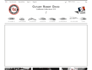 robert-david.com screenshot