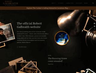 robert-galbraith.com screenshot