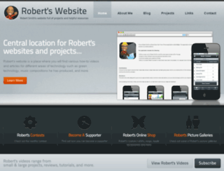 robert-smith.net screenshot