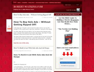 robert-watkins.com screenshot