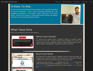 robertattfield.com screenshot