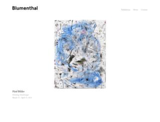 robertblumenthal.com screenshot