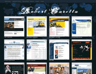 robertcaretta.com screenshot