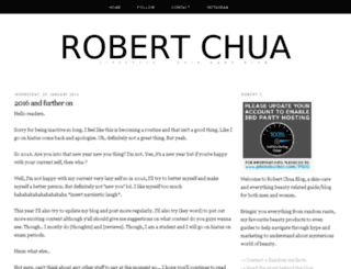 robertchuablog.com screenshot