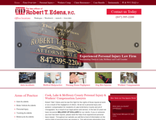 robertedenslawoffice.com screenshot