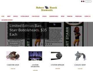 roberthaackdiamonds.com screenshot