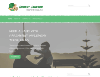 robertjaneson.com screenshot