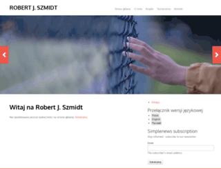robertjszmidt.pl screenshot