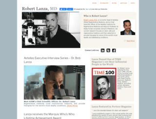 robertlanza.com screenshot