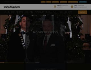 robertonecci.it screenshot