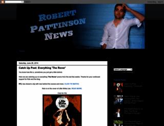 robertpattinsonnews-uk.blogspot.com screenshot