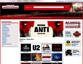 robertplant.fanfire.com screenshot