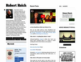 robertreich.org screenshot
