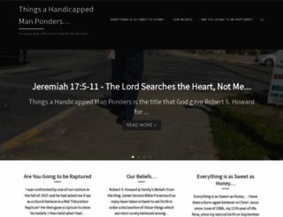 robertshoward.com screenshot