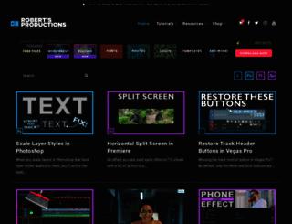 robertsproductions.net screenshot
