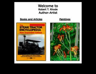 roberttrhode.org screenshot