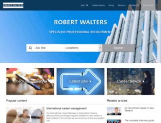 robertwalters.co.nz screenshot