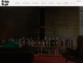 robinboyd.org.au screenshot