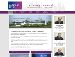 robinsonlayer.co.uk screenshot
