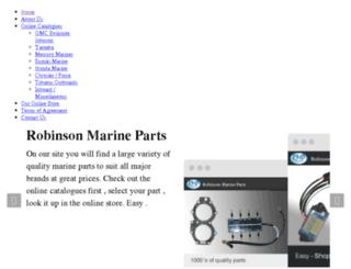 robinsonmarine.com.au screenshot