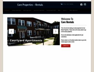 robinsonrentals.net screenshot