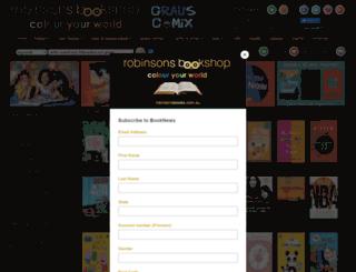 robinsonsbooks.com.au screenshot