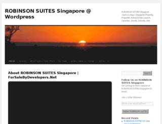 robinsonsuitessingapore.wordpress.com screenshot