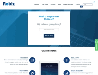 robiz-telecom.nl screenshot