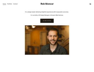 robmoncur.com screenshot