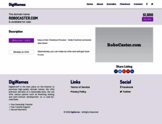 robocaster.com screenshot