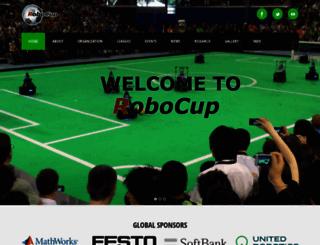 robocup.org screenshot