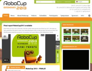 robocup2013.org screenshot