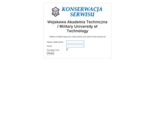 roboczy.wat.edu.pl screenshot