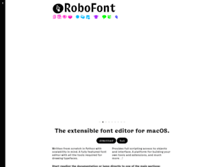 robofont.com screenshot