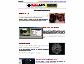 robogeo.com screenshot