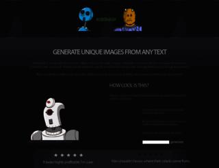 robohash.org screenshot