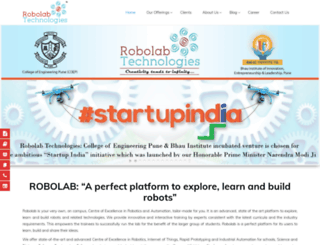 robolab.in screenshot