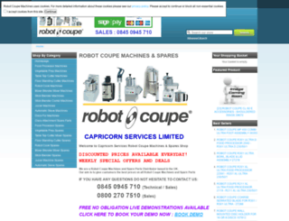 robotcoupemachines.co.uk screenshot