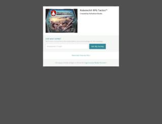 robotech-rpg-tacticstm.backerkit.com screenshot