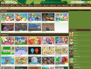 roboti.1001hry.cz screenshot